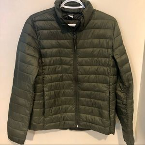 Olive Green Old Navy Active Light Puffer Jacket